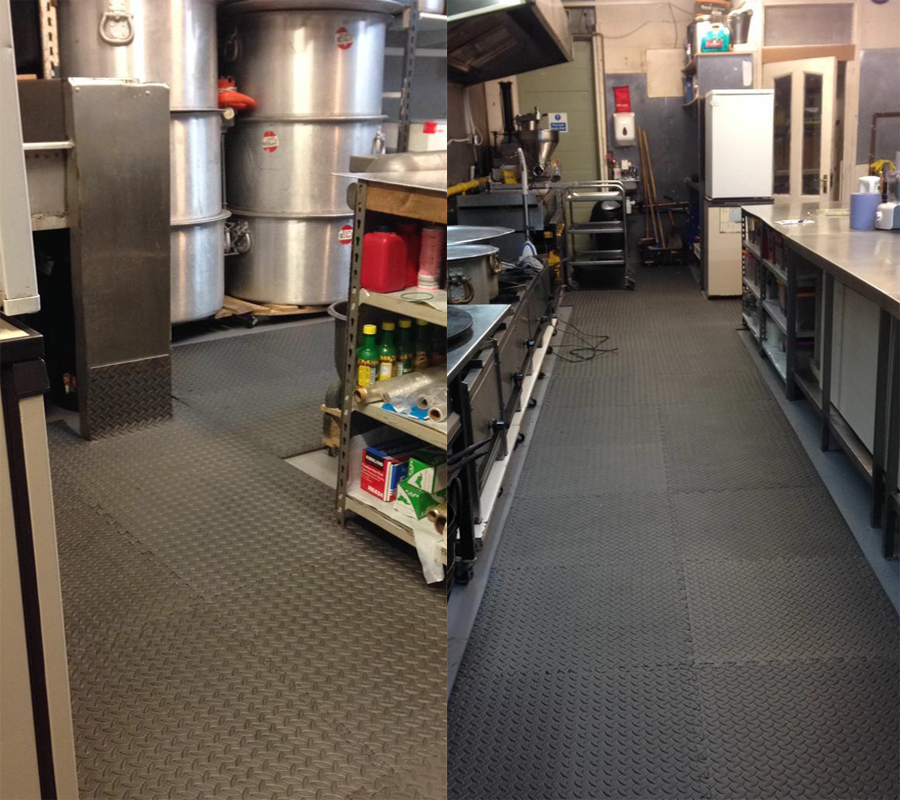 Kitchen at Bolton Catering